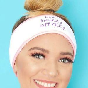 NWT Tarte Cosmetics Spa Terry Headband
